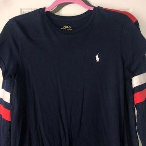 ralph lauren short sleeve navy blue Polo